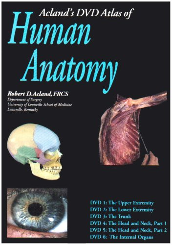 9780781740753: Acland's DVD Atlas of Human Anatomy Discs 1-6 Institutional Version