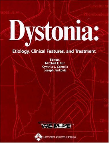 9780781741149: Dystonia: Etiology, Clinical Features, and Treatment