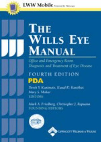 9780781742092: The Wills Eye Manual, Fourth Edition, for PDA: Powered by Skyscape, Inc.