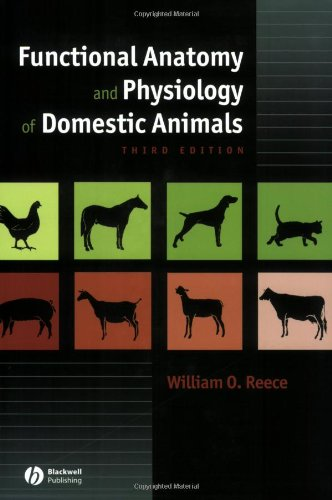9780781743334: Functional Anatomy and Physiology of Domestic Animals