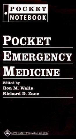 9780781743518: Pocket Emergency Medicine (Pocket Notebook Series)