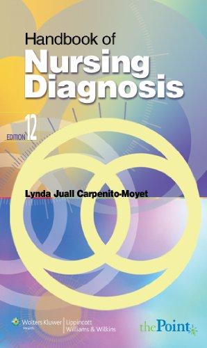 9780781743556: Handbook of Nursing Diagnosis