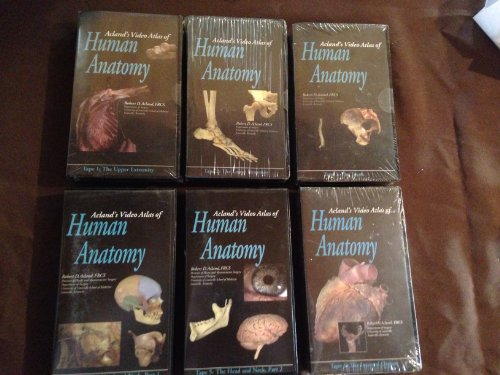 9780781743587 Aclands Video Atlas Of Human Anatomy Set Of Four