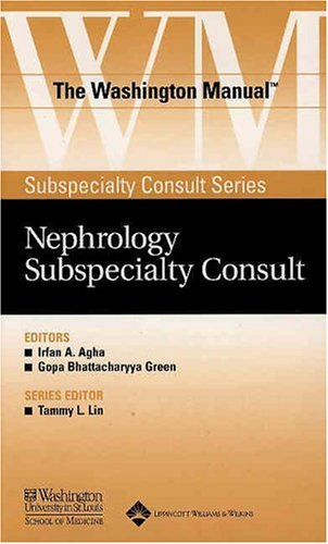9780781743778: The Washington Manual Nephrology Subspecialty Consult