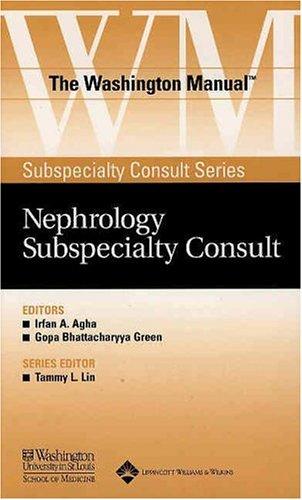 9780781743778: The Washington Manual® Nephrology Subspecialty Consult (The Washington Manual® Subspecialty Consult Series)