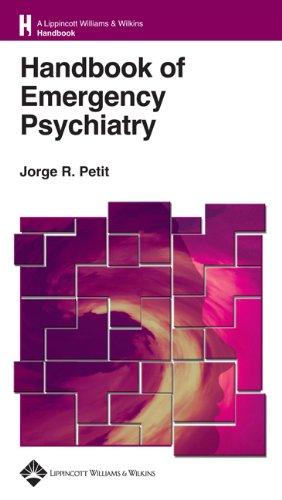 9780781743822: Handbook of Emergency Psychiatry