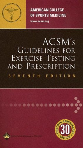 ACSM's Guidelines For Exercise Testing And Prescription: Peter H. Brubaker,