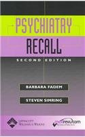 9780781745116: Psychiatry Recall, 2nd Edition