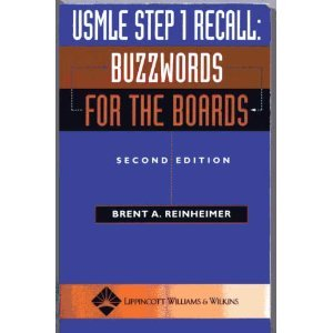 9780781745130: USMLE Step 1 Recall: Buzzwords for the Boards (Recall Series)