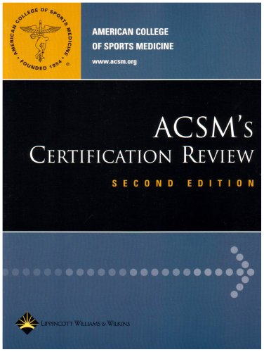 9780781745925: ACSM's Certification Review