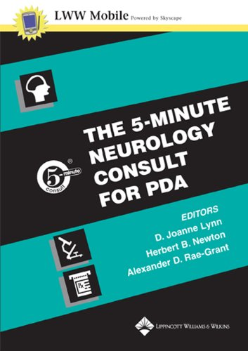 9780781746045: The 5- Minute Neurology Consult PDA on CD-ROM (5-minute Consult Series)