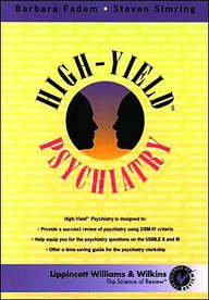 9780781746694: High-Yield Psychiatry (Science of Review)