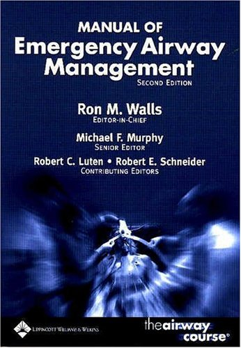 9780781747646: Manual of Emergency Airway Management