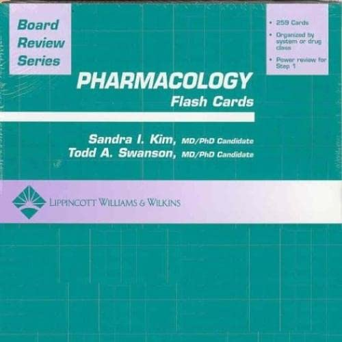 9780781747967: BRS Pharmacology Flash Cards (Board Review Series)