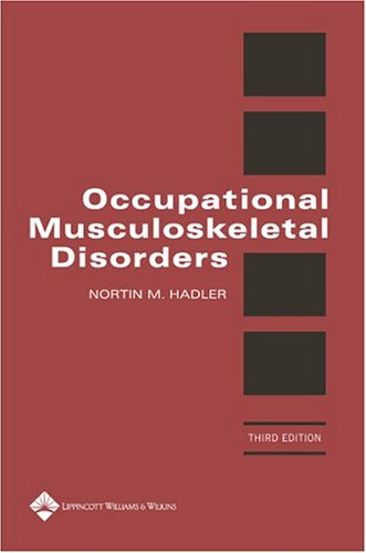 9780781749220: Occupational Musculoskeletal Disorders