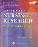 9780781749725: Essentials Of Nursing Research: Methods, Appraisal, And Utilization
