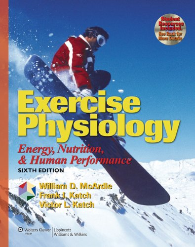 9780781749909: Exercise Physiology: Energy, Nutrition, and Human Performance (Exercise Physiology ( MC Ardle))