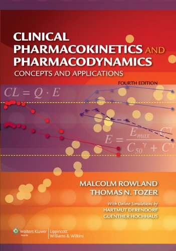 9780781750097: Clinical Pharmacokinetics and Pharmacodynamics: Concepts And Applications