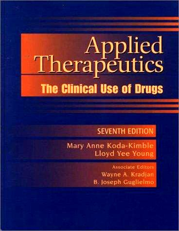 9780781750226: Applied Therapeutics: the Clinical Use of Drugs, with Facts and Comparisons: Drugfacts Plus