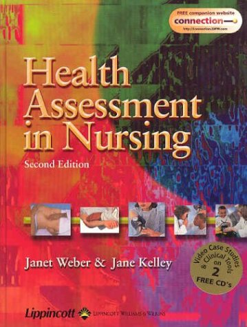 9780781750400: Health Assessment in Nursing with Case Studies on Bonus CD-ROM