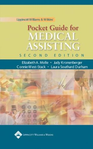 9780781751179: Lippincott Williams & Wilkins' Pocket Guide for Medical Assisting