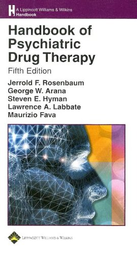 9780781751889: Handbook of Psychiatric Drug Therapy (Lippincott Williams & Wilkins Handbook Series)