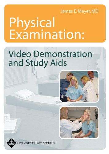 9780781753142: Physical Examination: Video Demonstration and Study Aids on CD-ROM