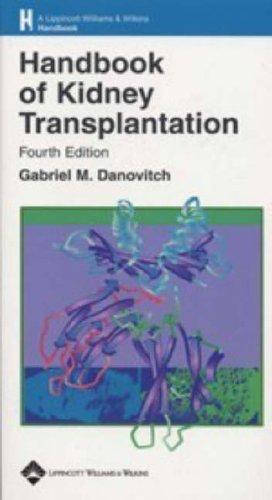 9780781753227: Handbook of Kidney Transplantation, Fourth edition