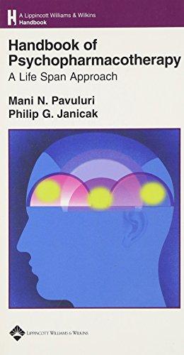 9780781753562: Handbook of Psychopharmacotherapy: A Life Span Approach (Lippincott Williams & Wilkins Handbook Series)