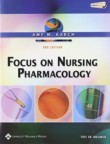 9780781753708: Focus on Nursing Pharmacology