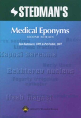 9780781754439: Stedman's Medical Eponyms