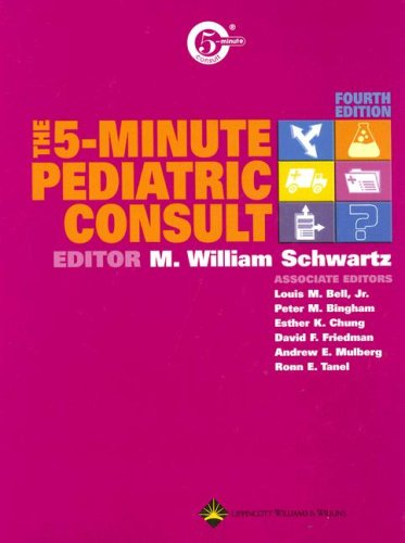 9780781754521: The 5-Minute Pediatric Consult (The 5-Minute Consult Series)