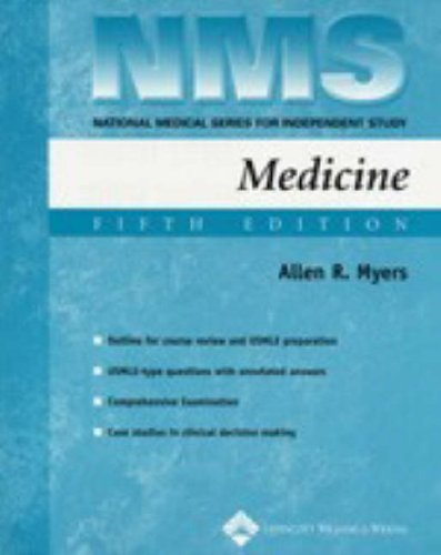 9780781754682: NMS Medicine (National Medical Series for Independent Study) 5th Edition