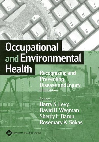 9780781755511: Occupational and Environmental Health: Recognizing and Preventing Disease and Injury (Levy, Occupational and Envionmental Health)