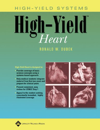 9780781755689: High-Yield? Heart (High-Yield Systems Series)
