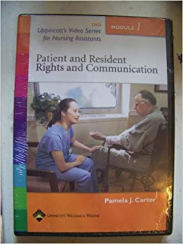 9780781756020: Lippincott's Video Series for Nursing Assistants: Resident and Patient Rights and Communication: Module 1