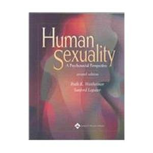9780781756808: Human Sexuality: A Psychosocial Perspective
