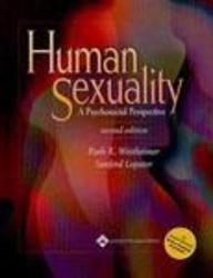 9780781756822: Human Sexuality: A Psychosocial Perspective, Plus Smarthinking Online Tutoring Service