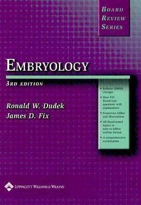 9780781757263: BRS Embryology (Board Review Series)