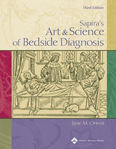 9780781757317: Sapira's Art & Science Of Bedside Diagnosis