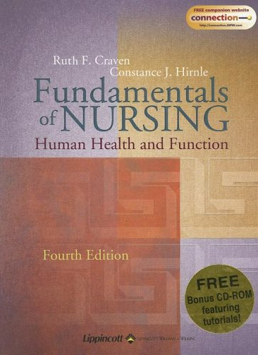 9780781758185: Fundamentals Of Nursing: Human Health And Function