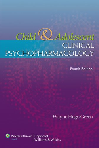 9780781759502: Child and Adolescent Clinical Psychopharmacology