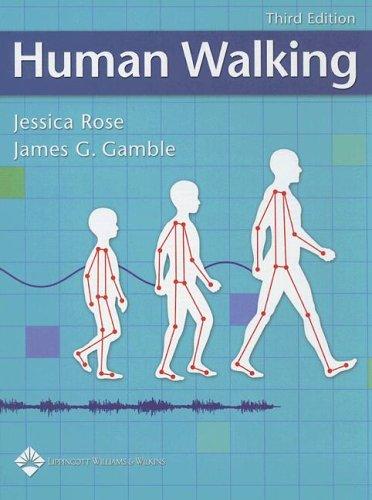 9780781759540: Human Walking