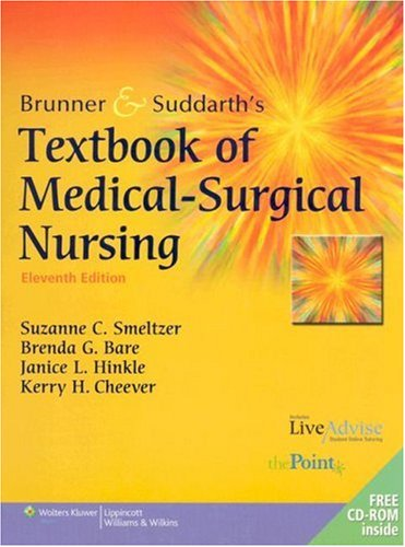 9780781759786: Brunner and Suddarth's Textbook of Medical-Surgical Nursing, 11th Edition (2 Volumes in 1)