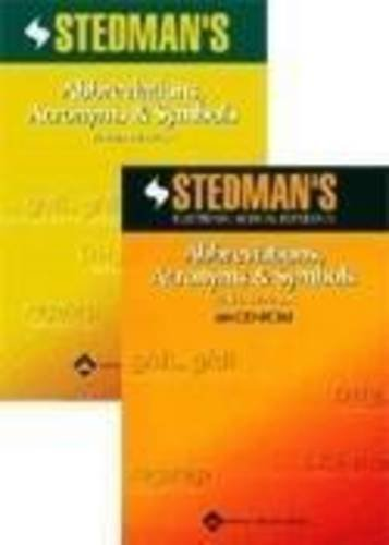 9780781760515: Stedman's Abbreviations, Acronyms & Symbols