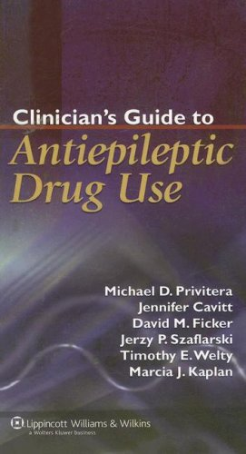 9780781760645: Clinician's Guide to Antiepileptic Drug Use