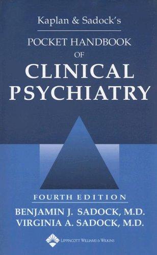 9780781762168: Kaplan & Sadock's Pocket Handbook of Clinical Psychiatry