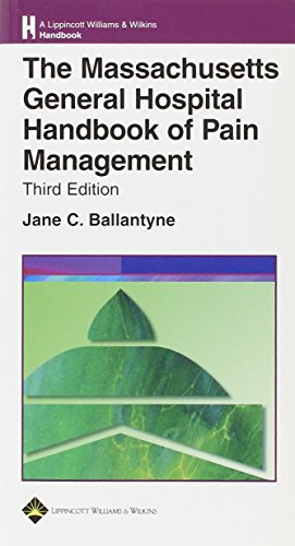 9780781762243: Massachusetts General Hospital Handbook of Pain Management (Lippincott Williams and Wilkins Handbook Series)