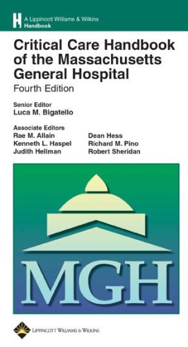 9780781762441: Critical Care Handbook Of The Massachusetts General Hospital