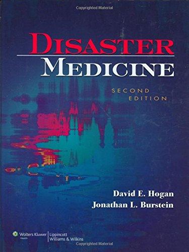 9780781762625: Disaster Medicine